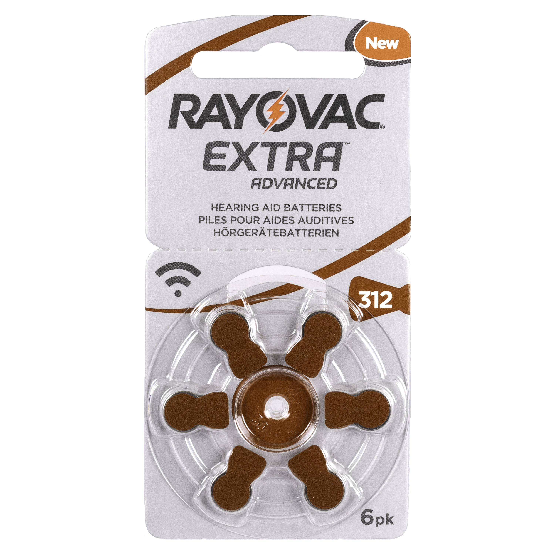 Rayovac Advanced Extra 312 Kuulokojeparisto Finfonic